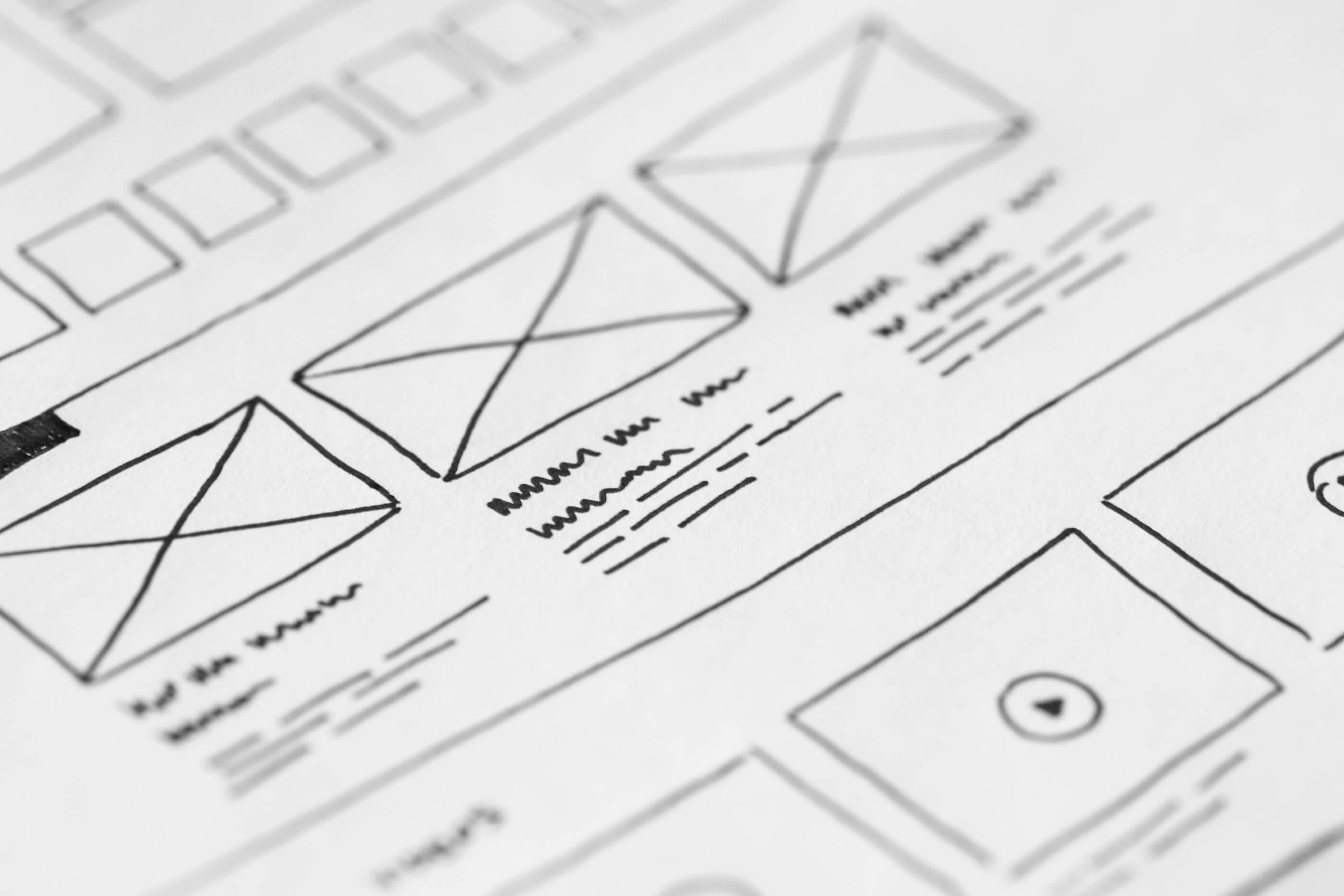defining design sitemap vs wireframe paradoxlabs